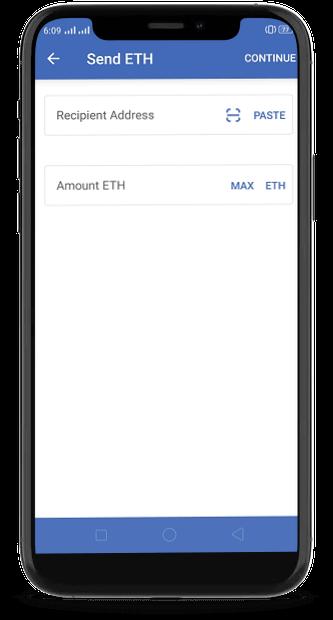 sending eth coins