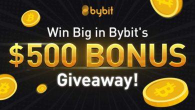 bybit $500 bonus giveaway