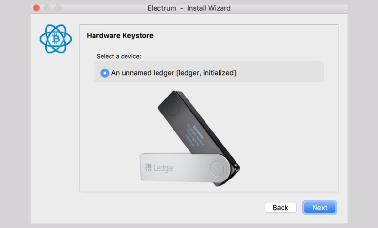 ledger not detected electrum