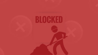 miner wallet blocked