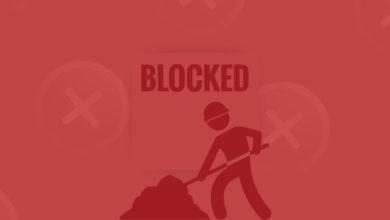 miner wallet blocked
