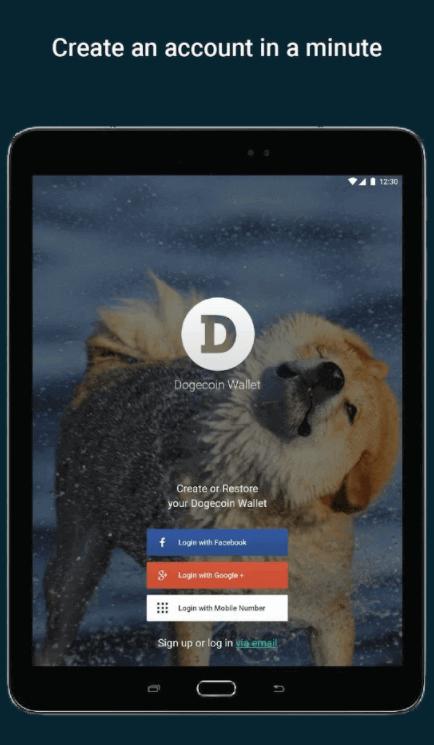 dogecoin mobile vault