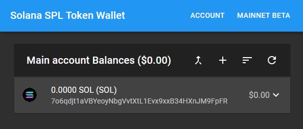 custom spl token wallet