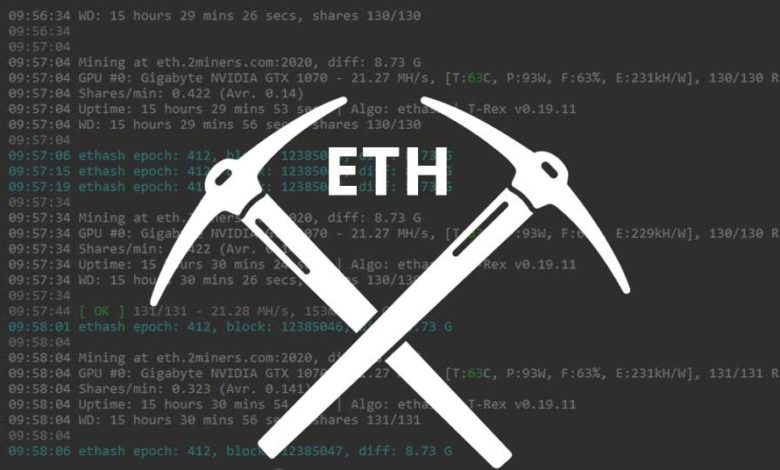 eth mining software