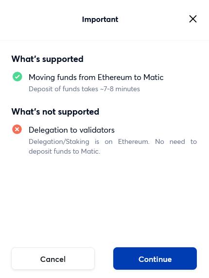 token swap notification