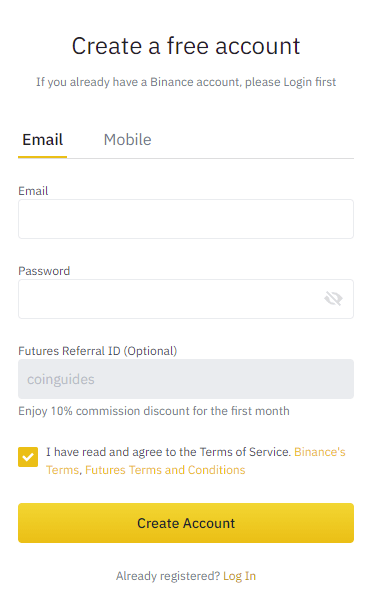 futures fee discount