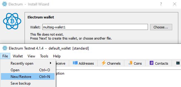 multisig wallet 1