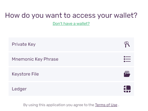 access avax wallet