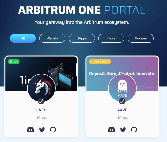 arbitrum portal